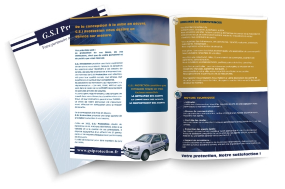 Brochure  de GSI Protection