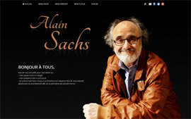 Alain SACHS, Site officiel